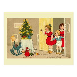 """Postal de """"Herzlichen Weihnachtsgruss"""""""
