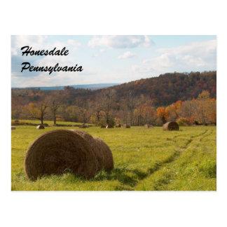 Postal de Honesdale Pennsylvania