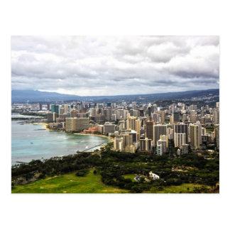Postal de Honolulu