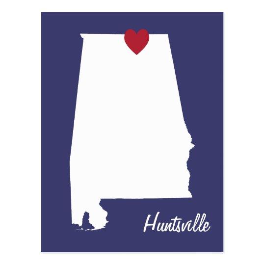 Postal de Huntsville Alabama
