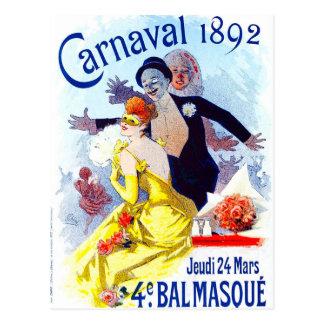 Postal de Julio Cheret Carnaval