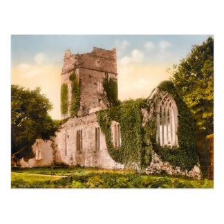 Postal de Killarney Irlanda de la abadía de