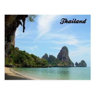 Postal de Krabi Tailandia de la playa de la
