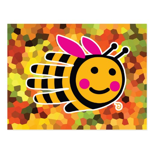 Postal de la abeja