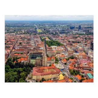 Postal de la antena de Zagreb