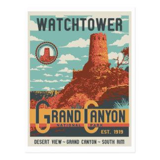 Postal de la atalaya del parque nacional del Gran