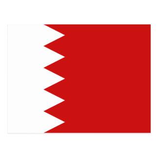 Postal de la bandera de Bahrein