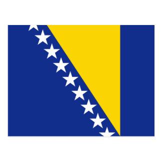 Postal de la bandera de Bosnia y Hercegovina