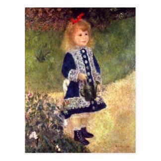 Postal de la bella arte de Renoir
