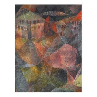 Postal de la bella arte del hotel de Paul Klee Das