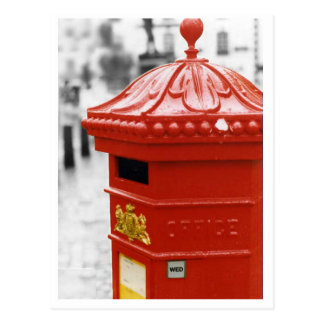 Postal de la caja de pilar - Penfold