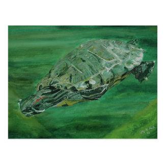 Postal de la cala de la tortuga
