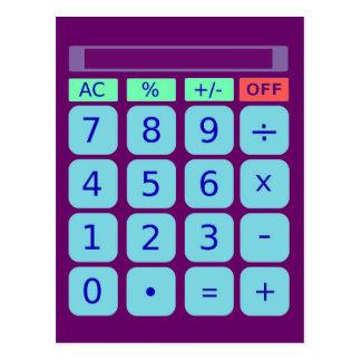 Postal de la calculadora