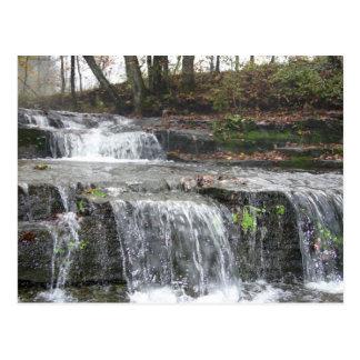 Postal de la cascada de Adirondack