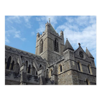 Postal de la catedral de la iglesia de Dublín