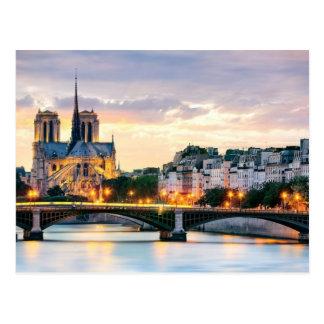 Postal de la catedral de Notre-Dame