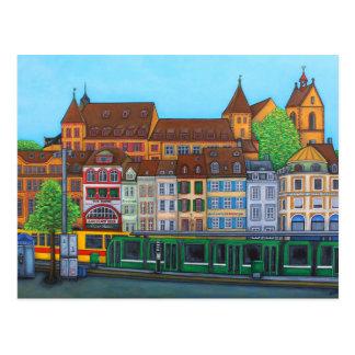 Postal de la cita de Barfüsserplatz de Lisa Lorenz