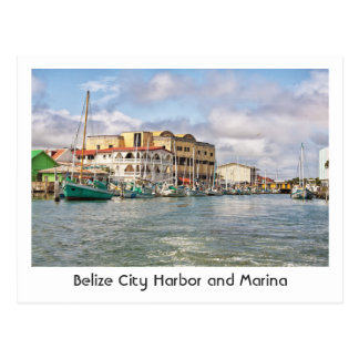 Postal de la ciudad de Belice