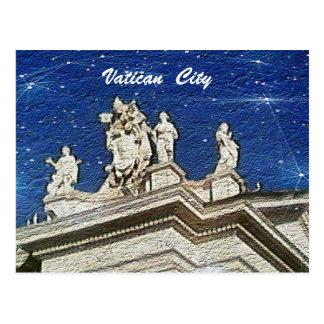 Postal de la Ciudad del Vaticano