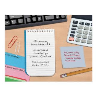 Postal de la contabilidad