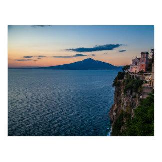 Postal de la costa de Amalfi