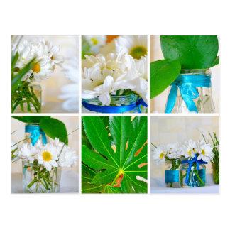 Postal de la decoración de la primavera