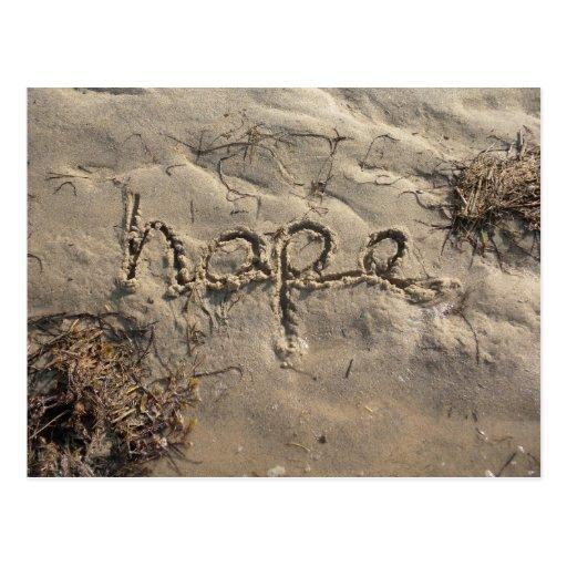 Postal de la esperanza