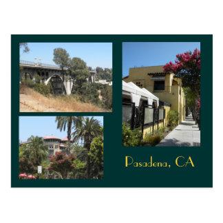 Postal de la foto de Pasadena, California