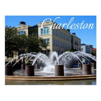 Postal de la fuente (SC) de Charleston Carolina