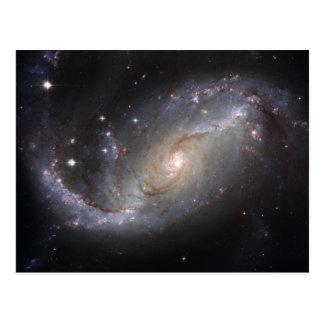 Postal de la galaxia espiral