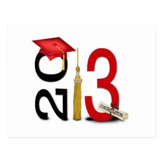 Postal de la graduación