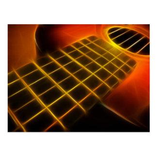 Postal de la guitarra