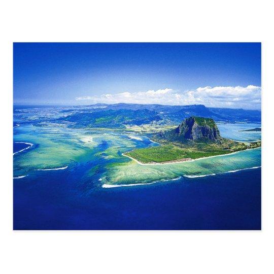 Postal de la isla de Mauricio