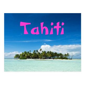 Postal de la isla de Tahití Postal