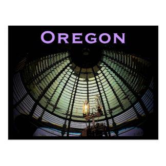 Postal de la lente de Oregon