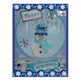 Postal de la luna de Frost