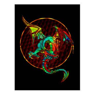 Postal de la luna del dragón