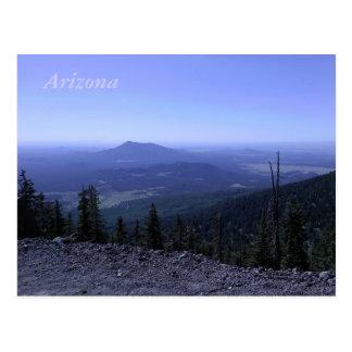 Postal de la montaña de Arizona
