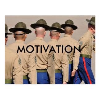 Postal de la motivación