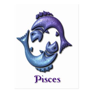 Postal de la muestra de Piscis