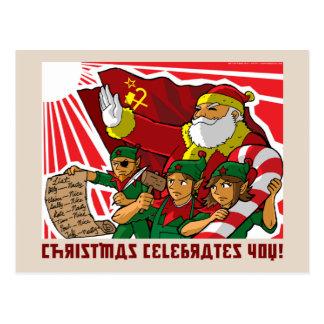 Postal de ¡La Navidad te celebra a ti!