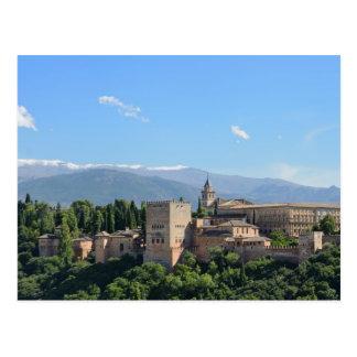 Postal de la opinión de Alhambra