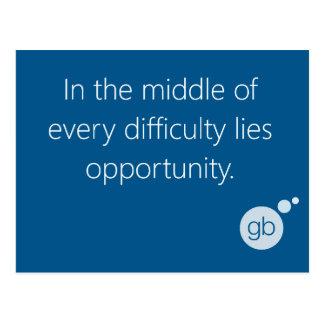 Postal de la oportunidad