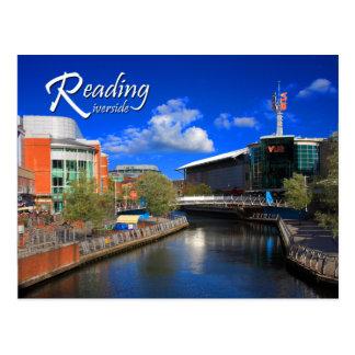 Postal de la orilla de la lectura