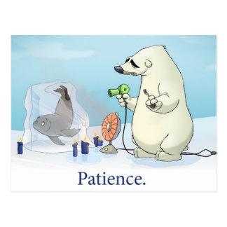 """Postal de la """"paciencia"""""""