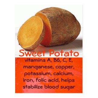 postal de la patata dulce
