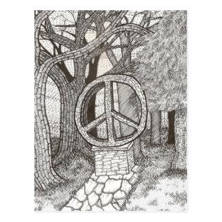Postal de la paz del opus