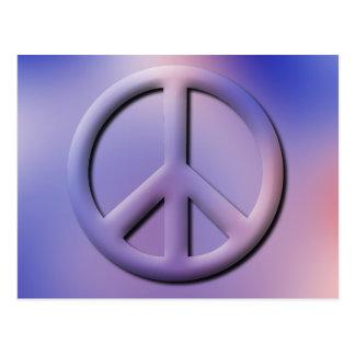 Postal de la paz