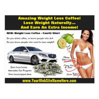 Postal de la pérdida de peso