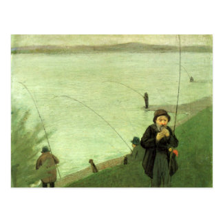 Postal de la pesca